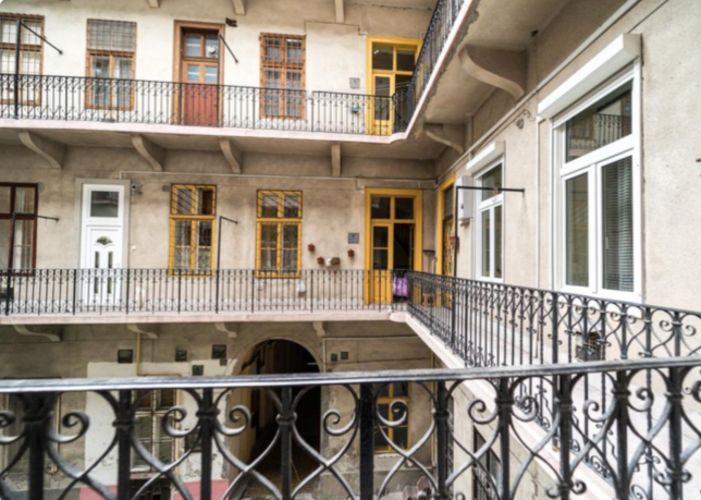 Appartamento brody s ndor in vendita a budapest nell 39 8 for Soggiorno budapest