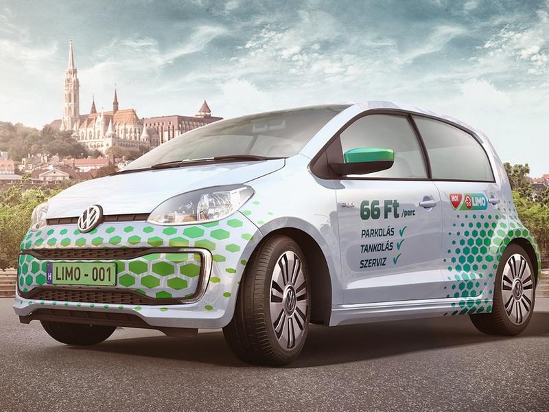 Il car sharing una nicchia nel trasporto di Budapest